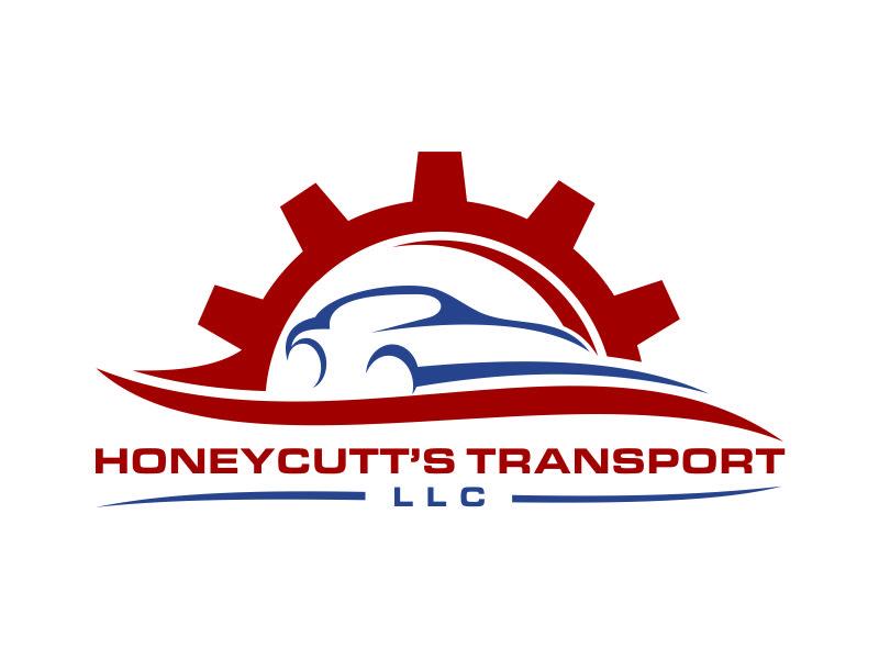 Honeycutt's Transport LLC logo design by azizah