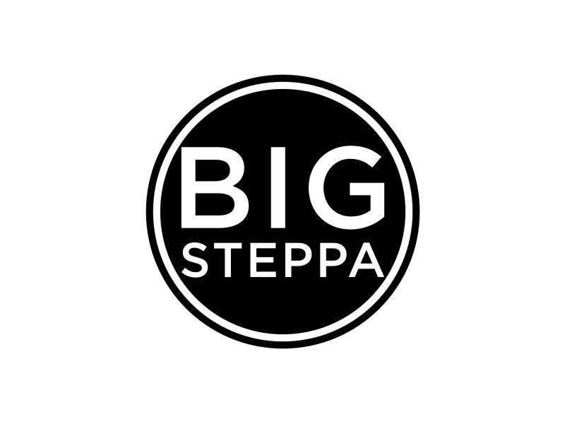 Big Steppa logo design by sabyan
