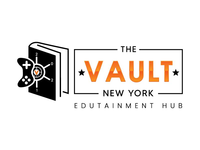 The Vault Scottsdale - Edutainment Hub logo design by GfxLady