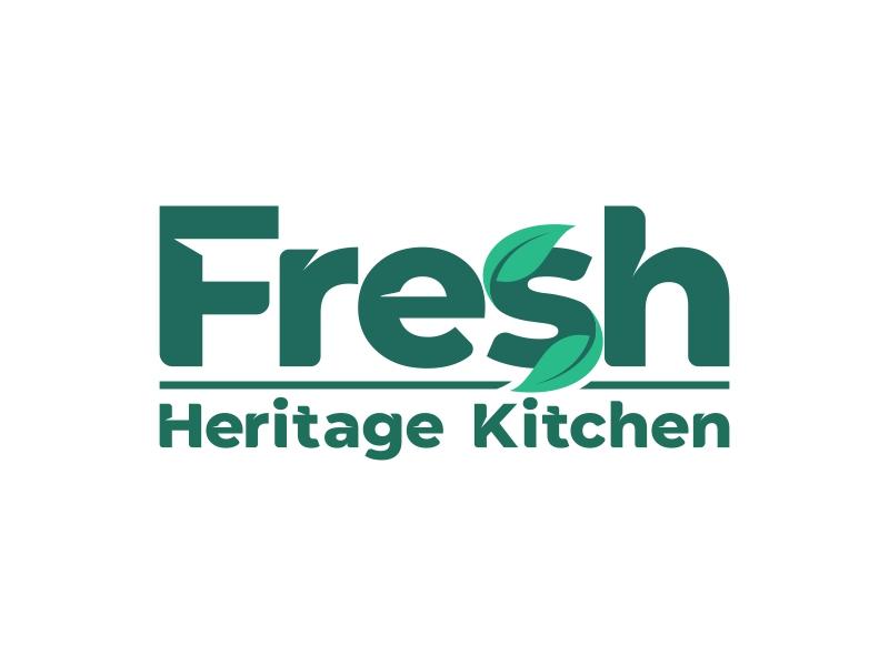 Fresh Heritage Kitchen logo design by ekitessar
