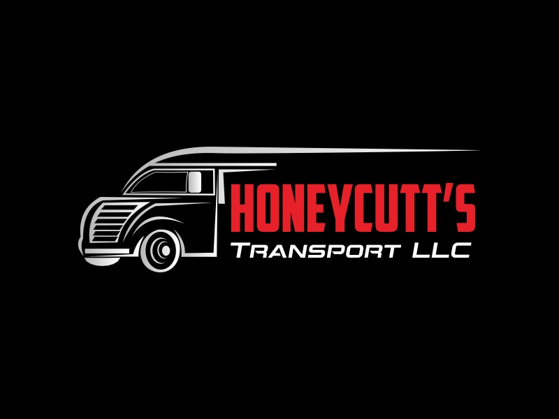 Honeycutt's Transport LLC logo design by Greenlight