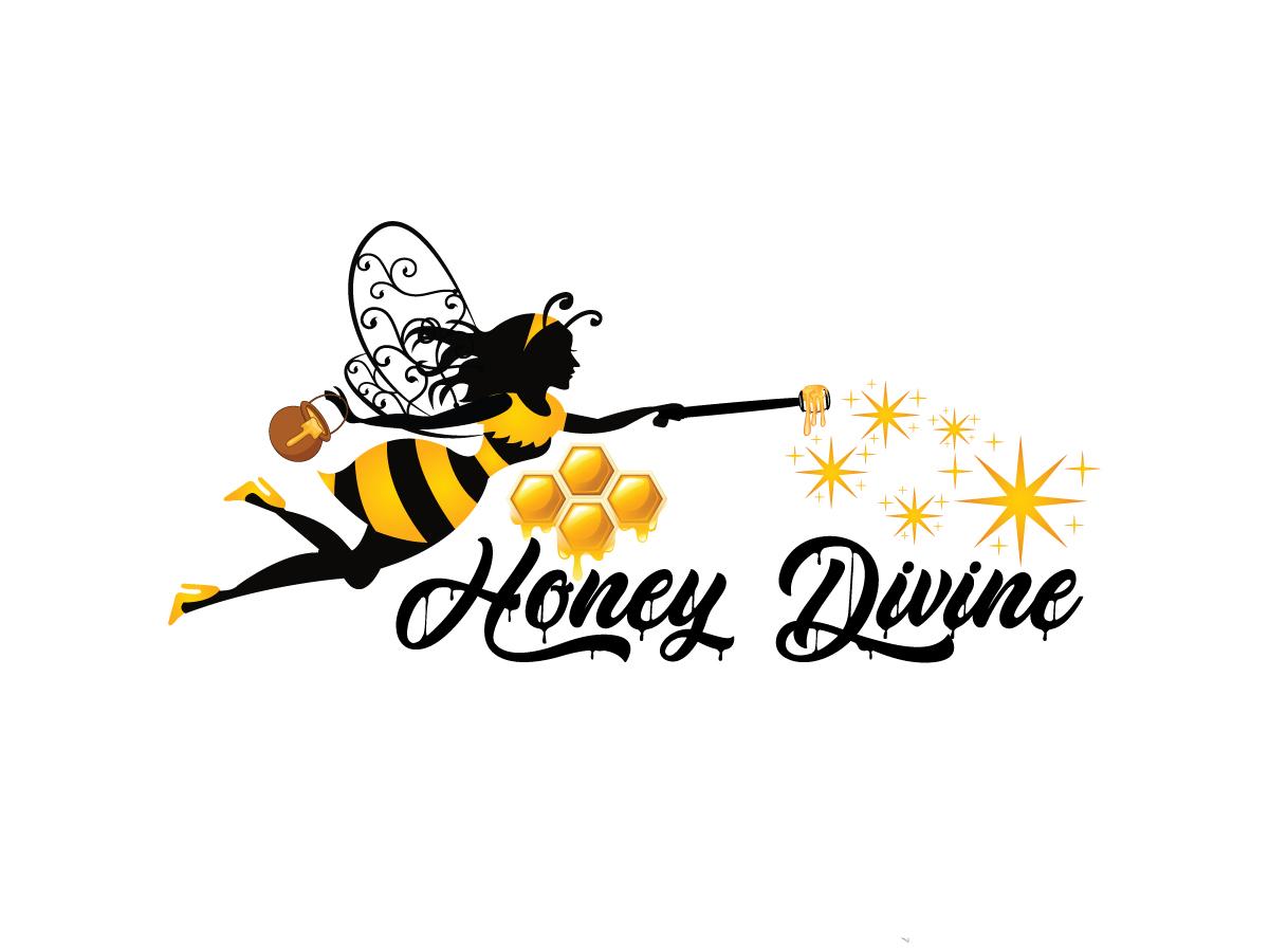 Honey Divine logo design by yondi