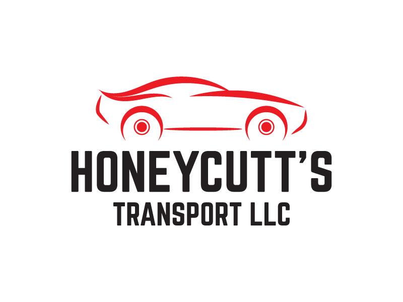 Honeycutt's Transport LLC logo design by aryamaity