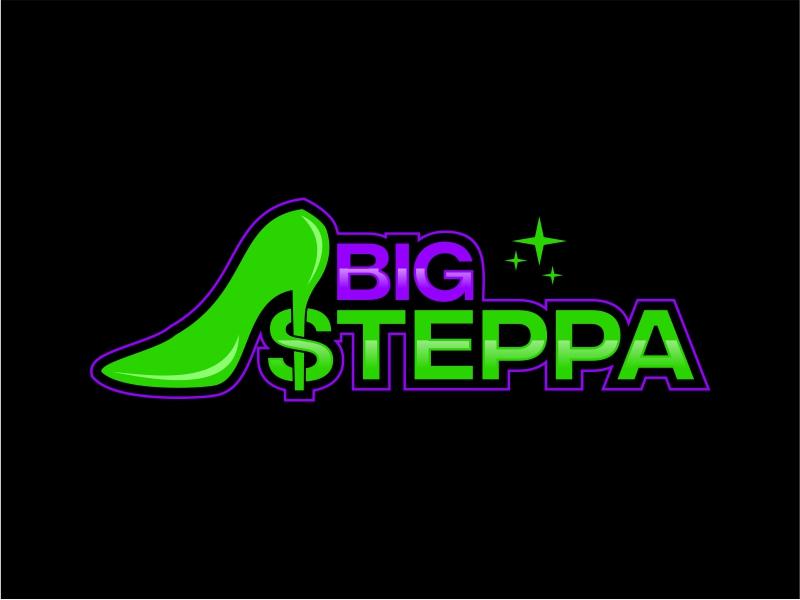 Big Steppa logo design by mutafailan