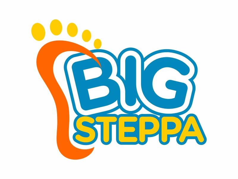 Big Steppa logo design by FriZign