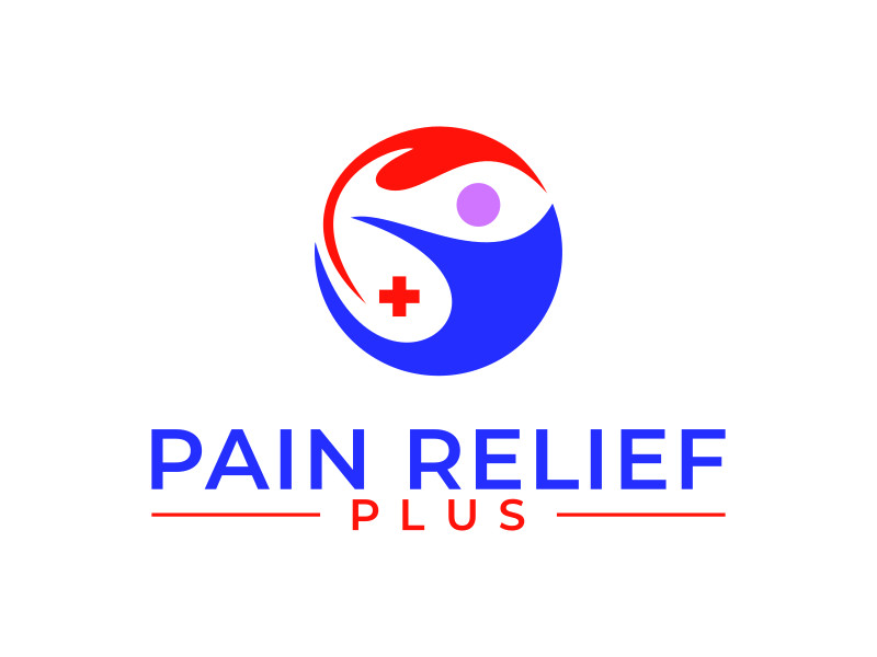 Pain Relief Plus logo design by dollart