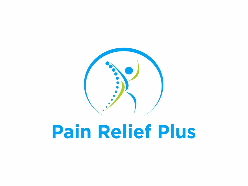 Pain Relief Plus logo design by Greenlight