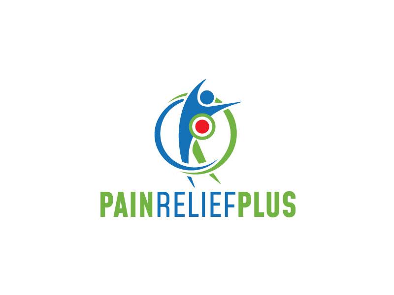Pain Relief Plus logo design by logoworld