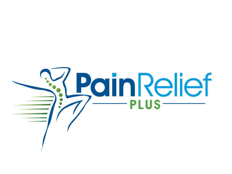Pain Relief Plus logo design by REDCROW