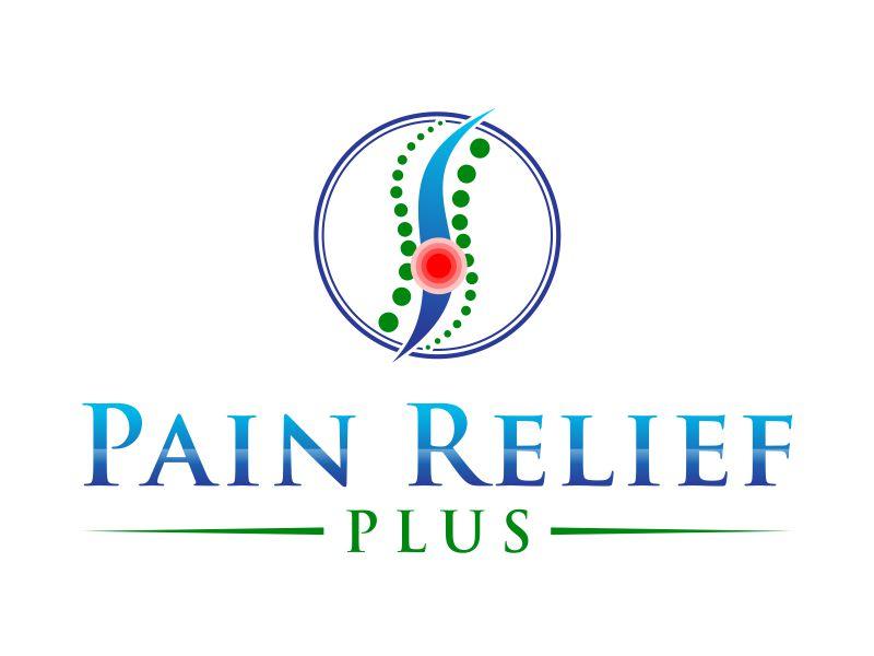 Pain Relief Plus logo design by meliodas