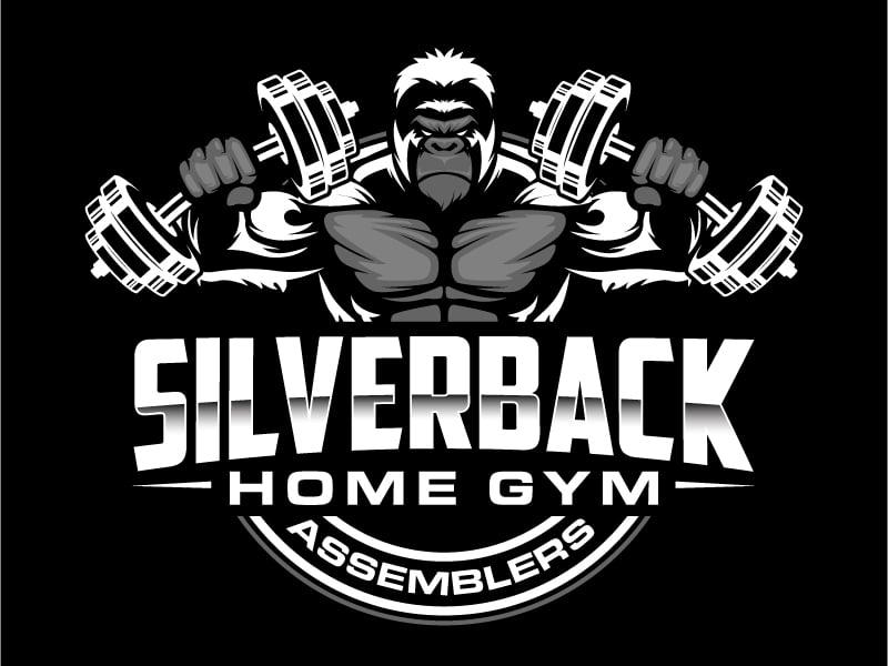 Silverback Home Gym Assemblers Logo Design