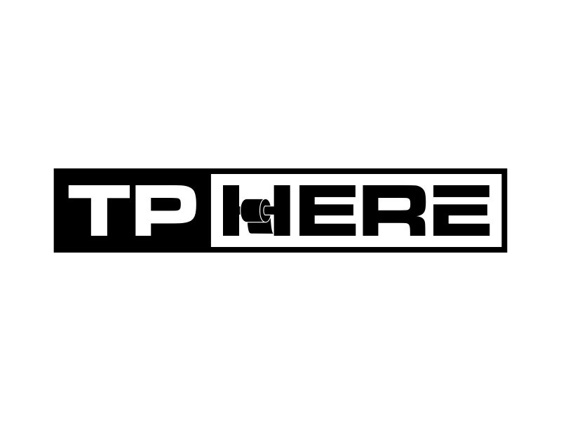 TP HERE logo design by aflah