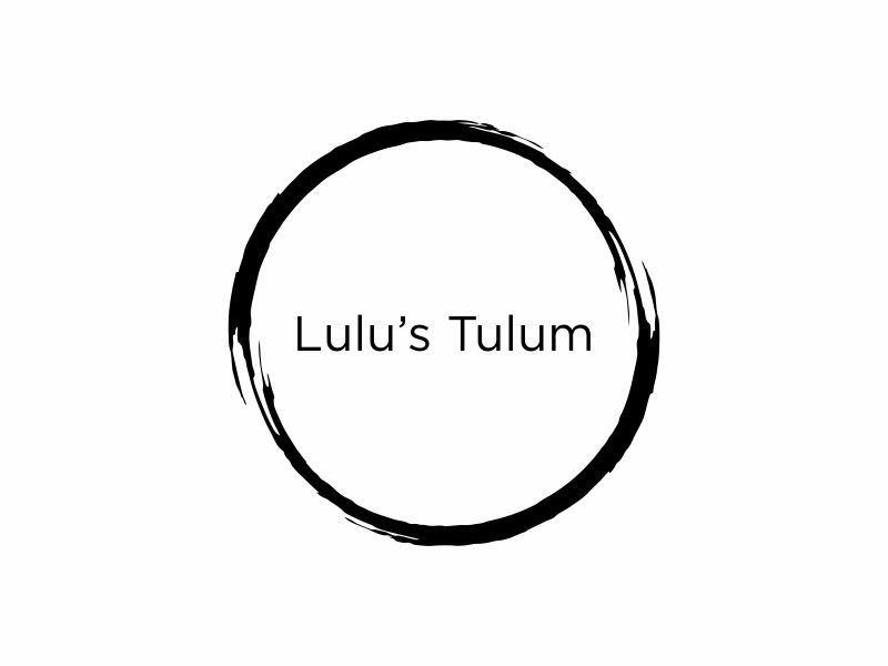 Lulu's Tulum logo design by Gedibal