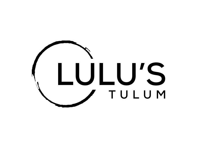 Lulu's Tulum logo design by lintinganarto