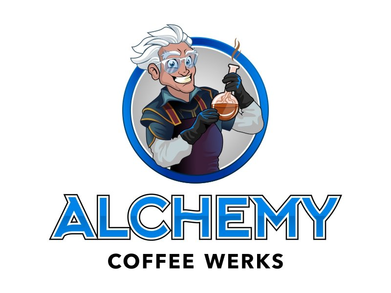 Alchemy Coffee Werks Logo Design