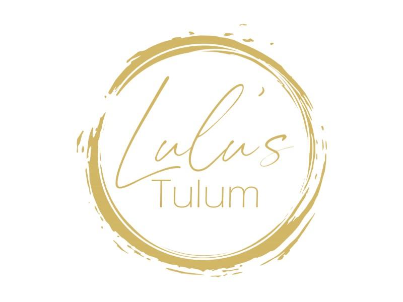 Lulu's Tulum logo design by coco