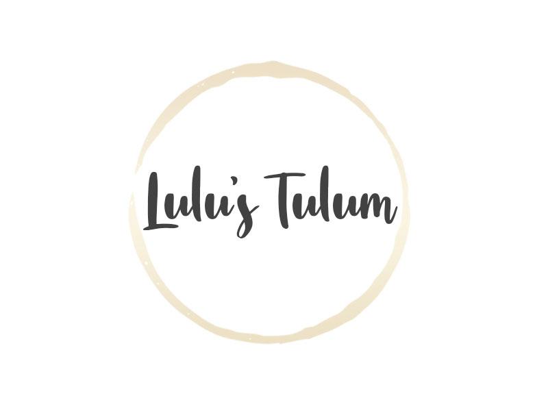 Lulu's Tulum logo design by kunejo