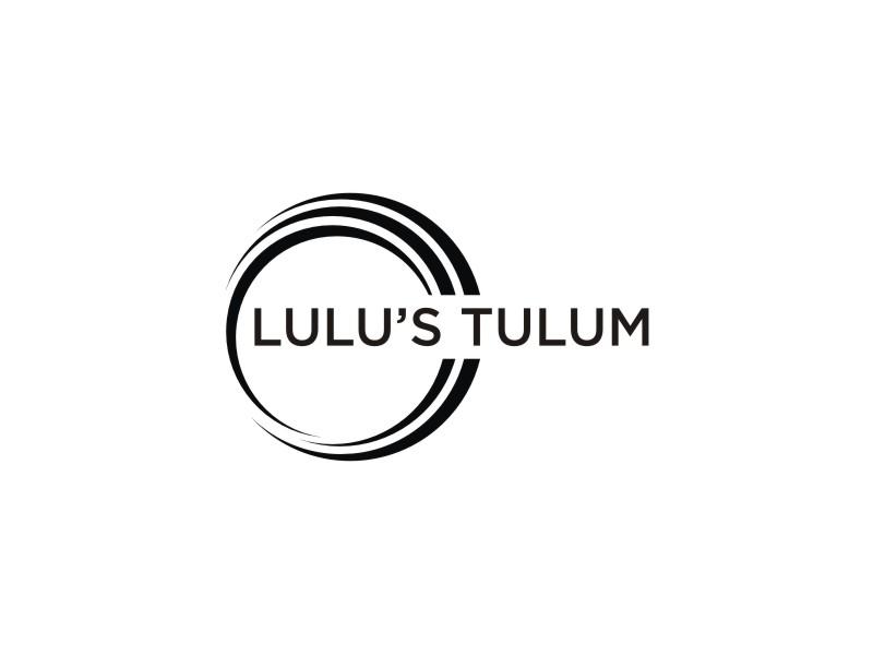 Lulu's Tulum logo design by muda_belia