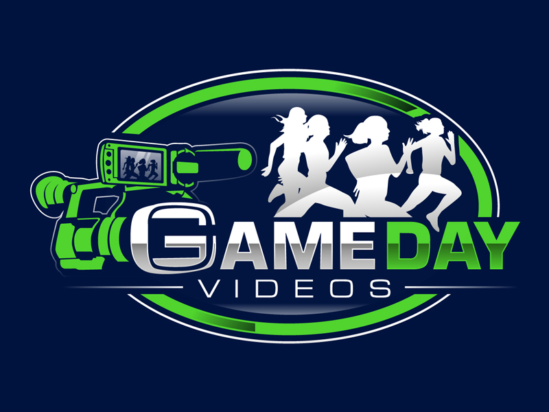Game Day Videos logo design by DreamLogoDesign