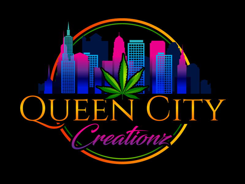 Queen City Creationz logo design by DreamLogoDesign