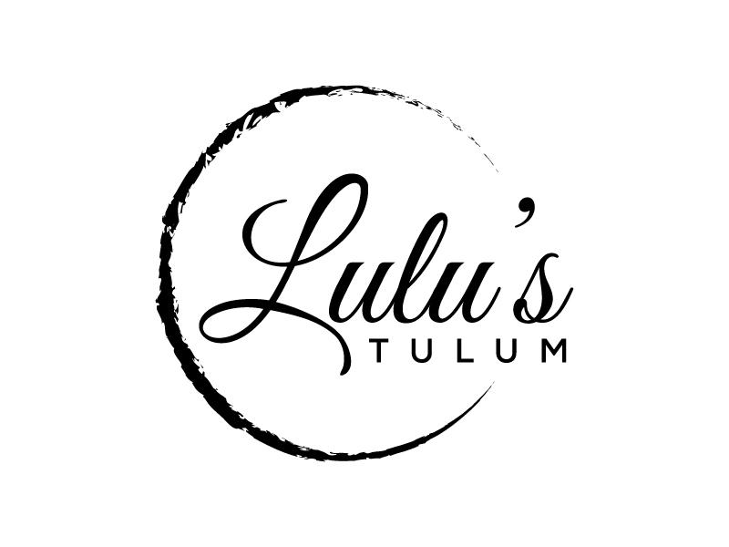 Lulu's Tulum logo design by BrainStorming