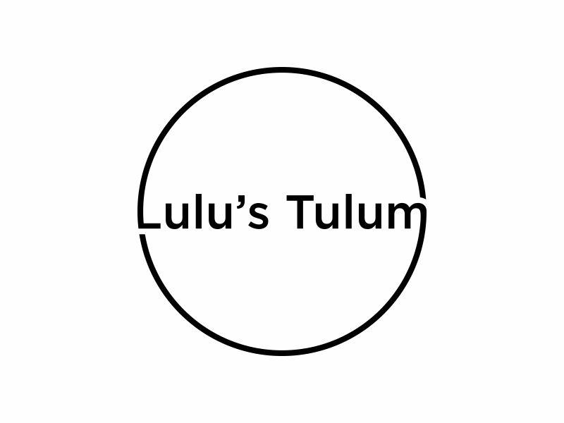 Lulu's Tulum logo design by ora_creative