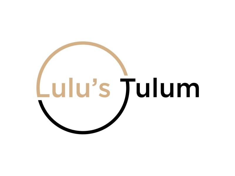 Lulu's Tulum logo design by uptogood