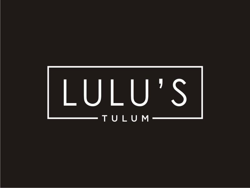 Lulu's Tulum logo design by Arto moro