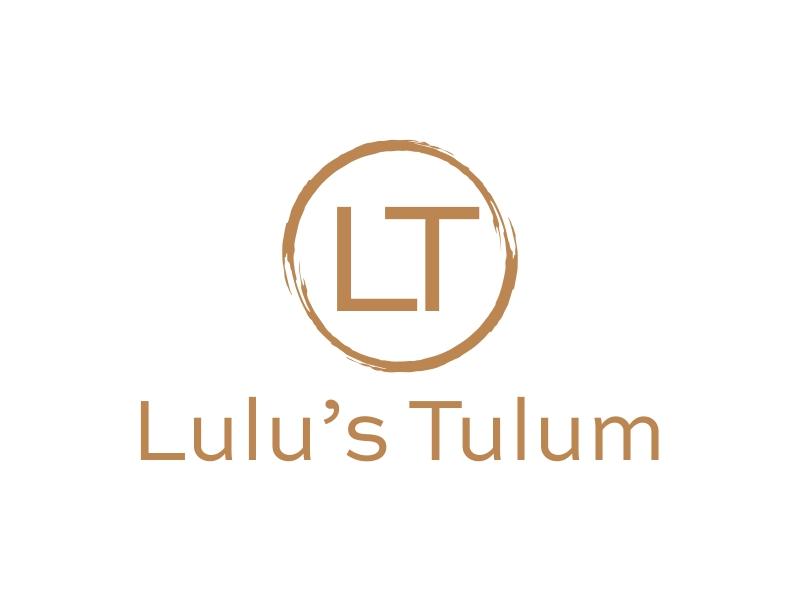 Lulu's Tulum logo design by lj.creative