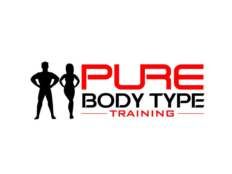 PURE Body Type Training Logo Design