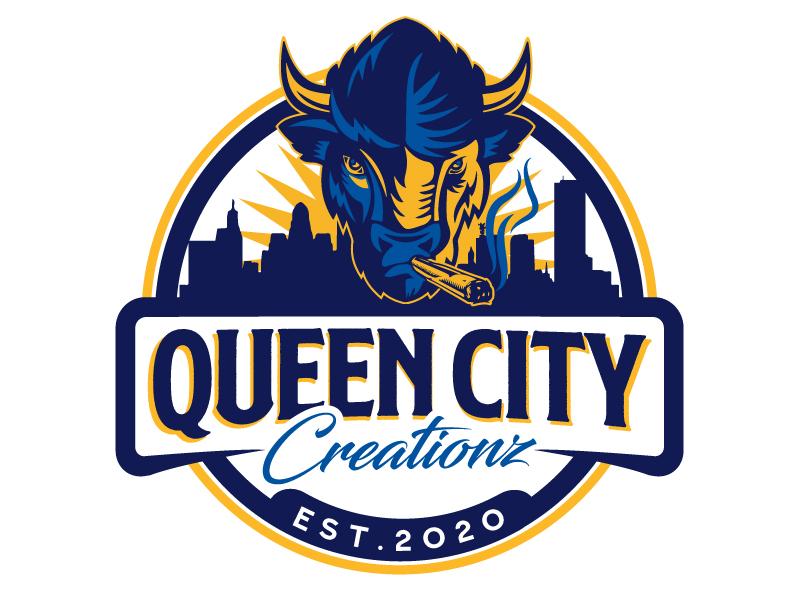 Queen City Creationz logo design by jaize