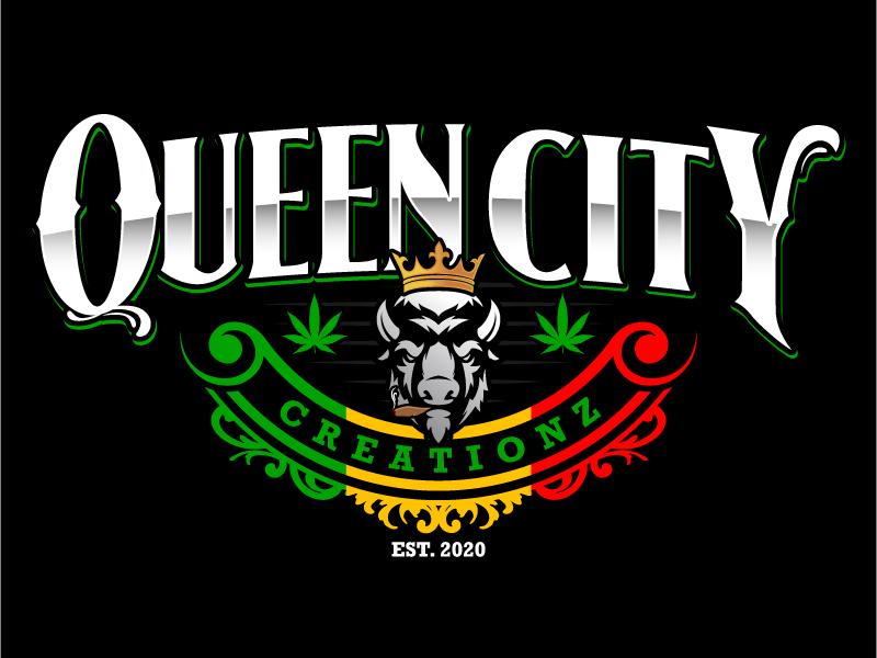 Queen City Creationz logo design by daywalker