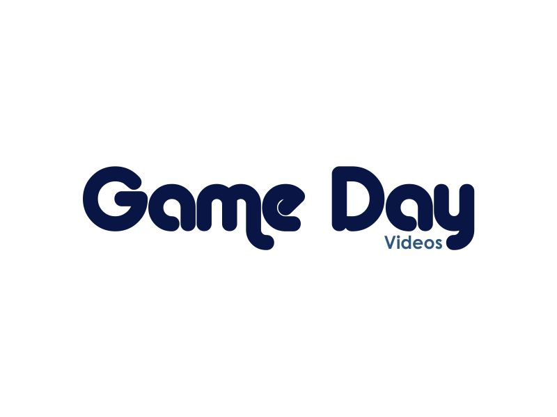 Game Day Videos logo design by giphone
