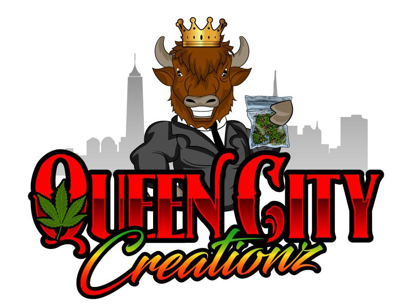 Queen City Creationz Logo Design