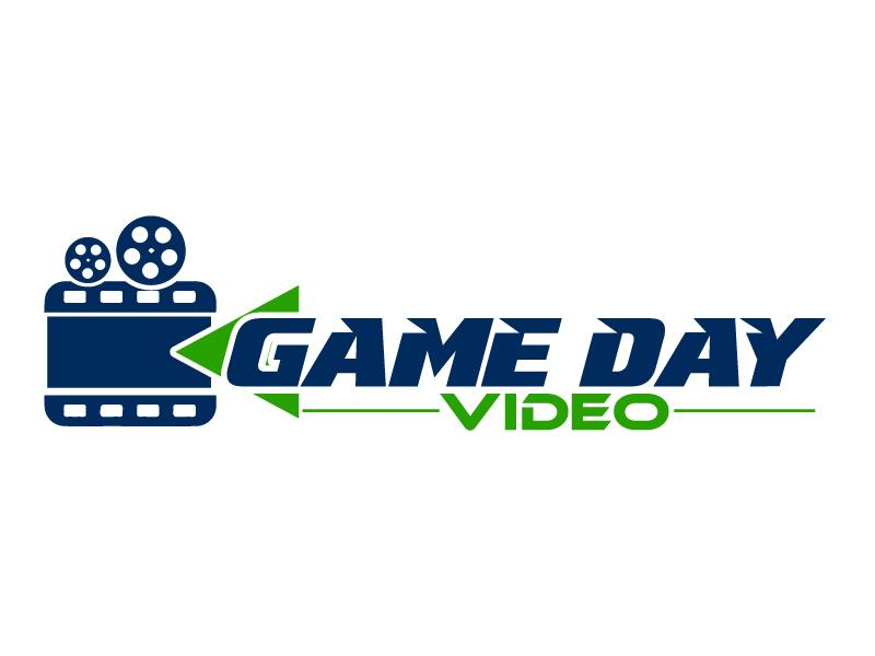 Game Day Videos logo design by ElonStark
