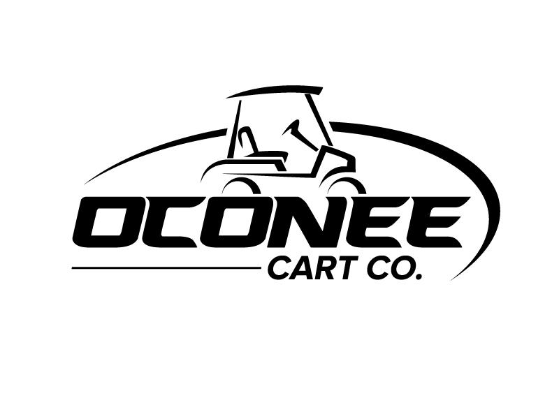 Oconee Cart Co. logo design by jaize
