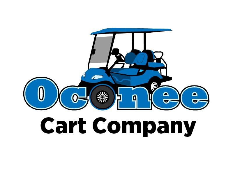Oconee Cart Co. logo design by chumberarto
