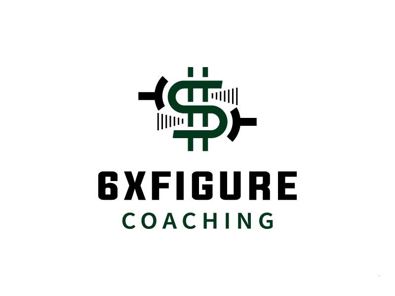 SIX,XXX FIGURES COACHING logo design by M Fariid