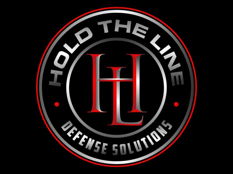 HtL (Hold the Line) Defense Solutions Logo Design