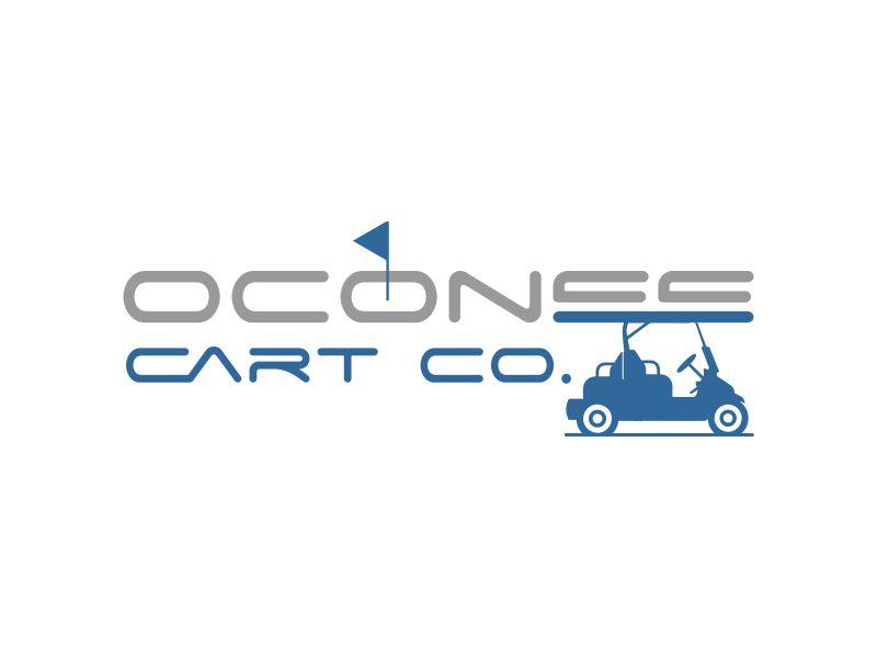 Oconee Cart Co. logo design by giphone
