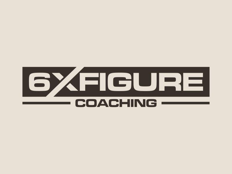 SIX,XXX FIGURES COACHING logo design by hopee