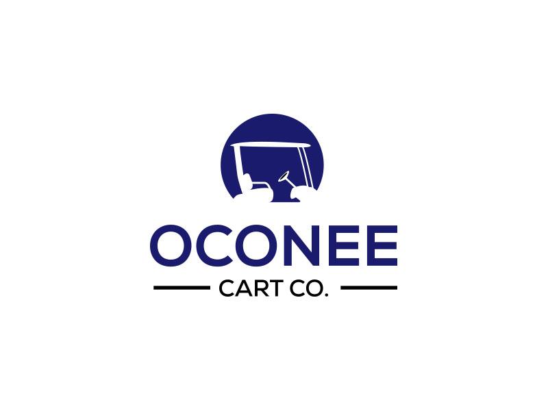 Oconee Cart Co. logo design by keylogo