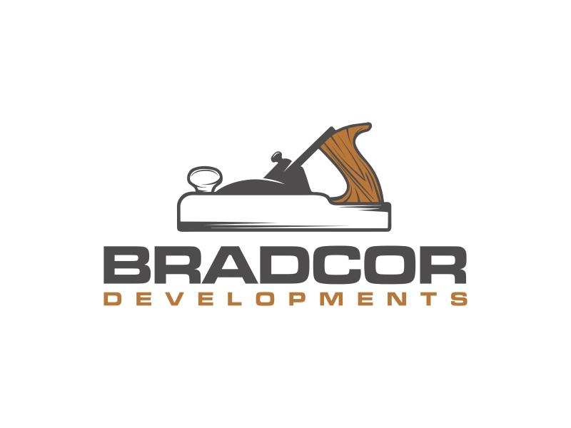 Bradcor Developments logo design by GassPoll