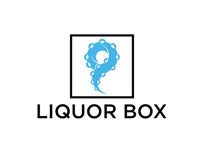 Liquor Box logo design by p0peye