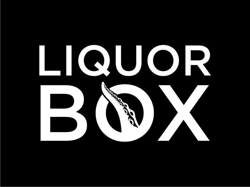 Liquor Box logo design by Garmos