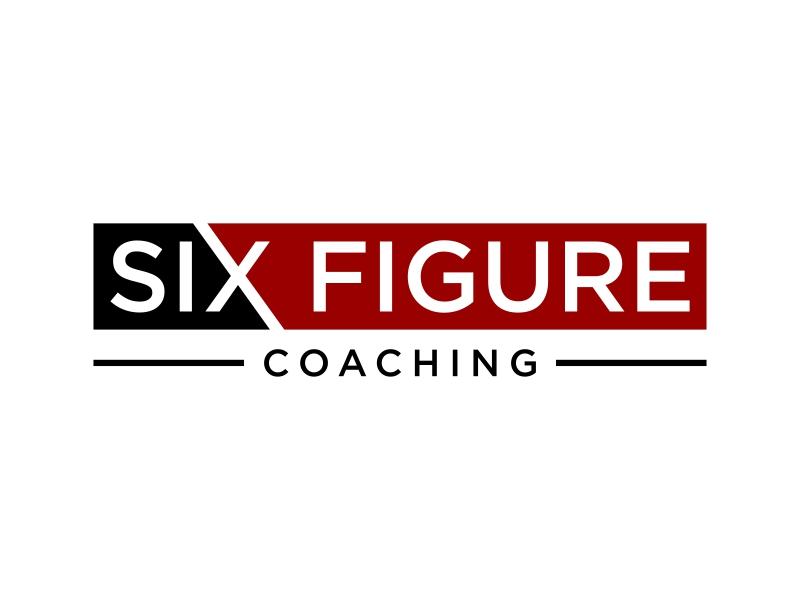 SIX,XXX FIGURES COACHING logo design by p0peye