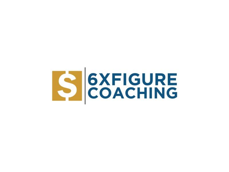 SIX,XXX FIGURES COACHING logo design by Dian..cox