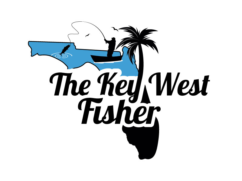 The Key West Fisher logo design by Suvendu