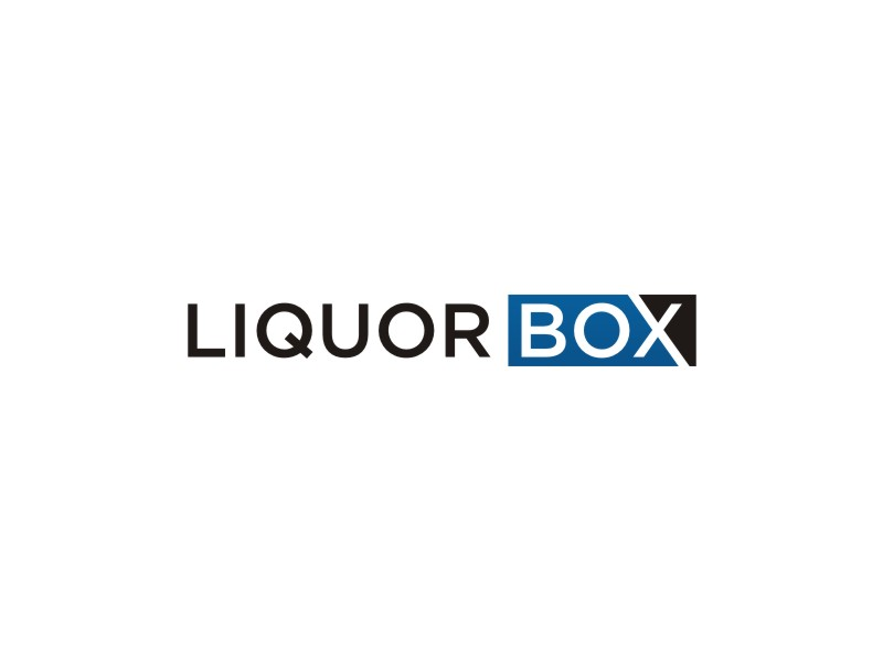 Liquor Box logo design by muda_belia