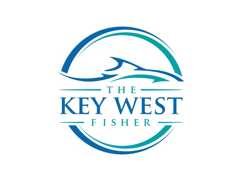 The Key West Fisher logo design by oke2angconcept